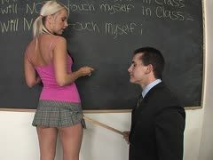 Barbie Addison is a damn nasty schoolgirl