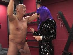 Baldhead is tortured by Donna Nora
