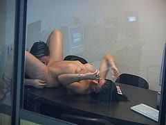 Filmed while having office sex