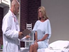 Hot milf for the sex-starved doctor