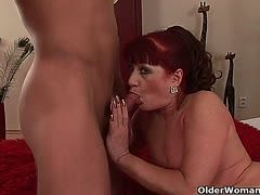 Old horny ladies are on cock hunt