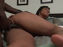 Huge black cock for hot Ebony
