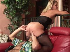 Housewife acts like a horny slut