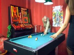 Sex am Billiardtisch