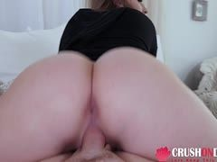 Stepfather satisfies his daughter pov