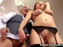 Mature cocks are her passion