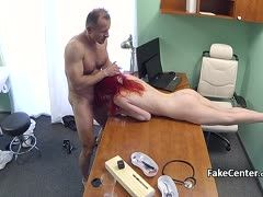 Doc with great dick bangs a red-haired patient