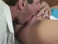 Doctor fucks blonde milf