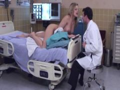 Doctor fucks his horny patient