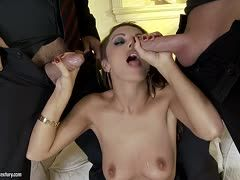 Anal fucking in a threesome