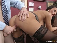 Sexy milf fucked in the office